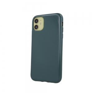 Dėklas Jelly Case Apple iPhone 13 Pro tamsiai žalias