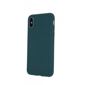 Dėklas Rubber TPU Apple iPhone 13 tamsiai žalias