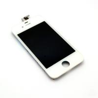 Ekranas Apple iPhone 4 su lietimui jautriu stikliuku baltas high copy