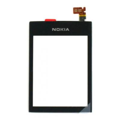 Lietimui jautrus stikliukas Nokia 300 juodas HQ