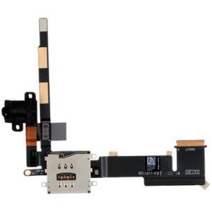 Lanksčioji jungtis Apple iPad 2 audio,sim flex (3G ver.) HQ