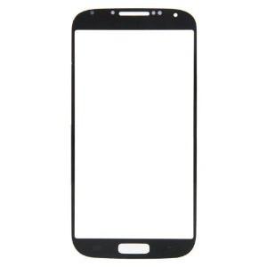 LCD stikliukas Samsung i9500 / i9505 S4 juodas (Black Edition)
