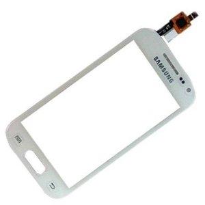 Lietimui jautrus stikliukas Samsung S7500 Ace Plus baltas HQ