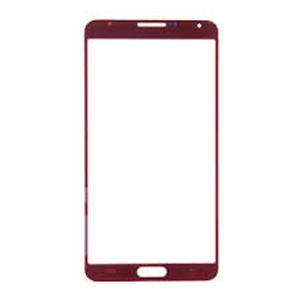 LCD stikliukas Samsung N9000 / N9005 Note 3 raudonas
