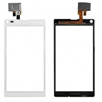 Lietimui jautrus stikliukas Sony S36h / C2105 / C2104 Xperia L baltas HQ