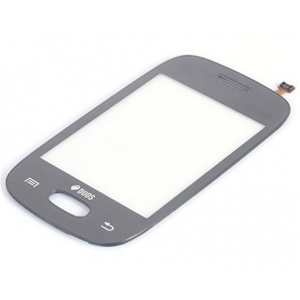 Lietimui jautrus stikliukas Samsung S5310 Pocket Neo pilkas HQ