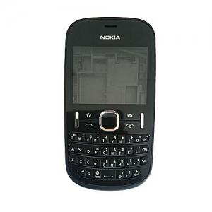 Korpusas Nokia 200 juodas