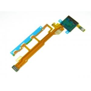 Lanksčioji jungtis Sony L36h / C6603 Xperia Z šoninių mygtukų su mikrofonu ir zumerio jungtimi HQ