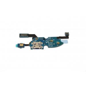Lanksčioji jungtis Samsung i9190 / i9195 S4 Mini su įkrovimo kontaktu ir mikrofonu ORG
