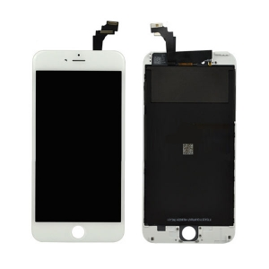 Ekranas iPhone 6 su lietimui jautriu stikliuku baltas HQ