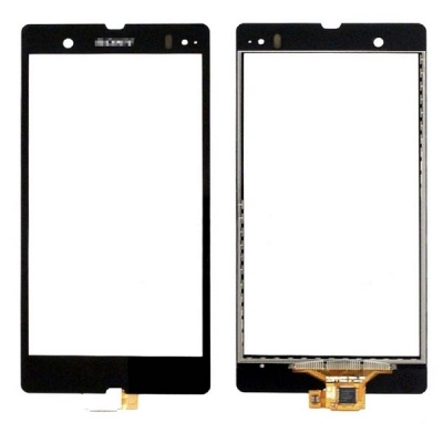 Lietimui jautrus stikliukas Sony L36h C6602 / C6603 Xperia Z juodas HQ