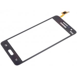 Lietimui jautrus stikliukas Samsung G530F Grand Prime (su  Duos  ženklu) pilkas HQ
