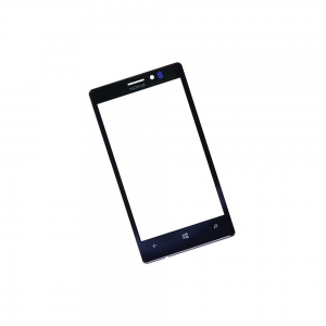 LCD stikliukas Nokia 925 juodas