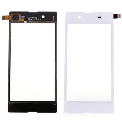 Lietimui jautrus stikliukas Sony D2203 / D2206 Xperia E3 baltas