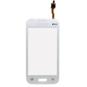 Lietimui jautrus stikliukas Samsung G313F Trend 2 baltas (su  Duos  ženklu) HQ