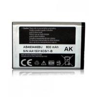 Akumuliatorius original Samsung X200 800mAh AB463446BU / X630 / C300 / C3300K / C3520 / B300 / C5212 / E1170 / D520 / B130 / E1200 AB553446BU