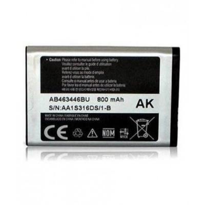 Akumuliatorius ORG Samsung X200 800mAh AB463446BU / X630 / C300 / C3300K / C3520 / B300 / C5212 / E1170 / D520 / B130 / E1200 AB553446BU