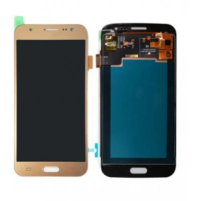 Ekranas Samsung J500 J5 su lietimui jautriu stikliuku auksinis original