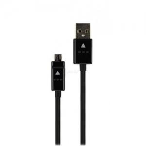 USB kabelis ORG LG G2 / G3 / G4 microUSB (DC05BK-G) juodas (1.2M)