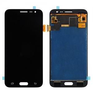 Ekranas Samsung J320F J3 2016 su lietimui jautriu stikliuku juodas originalus (service pack)