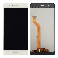 Ekranas Huawei P9 su lietimui jautriu stikliuku baltas (no logo) HQ