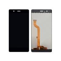 Ekranas Huawei P9 su lietimui jautriu stikliuku juodas (no logo) HQ