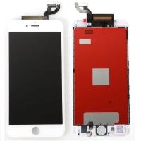 Ekranas iPhone 6S Plus su lietimui jautriu stikliuku baltas high copy
