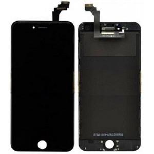 Ekranas iPhone 6 Plus su lietimui jautriu stikliuku juodas (Refurbished) ORG