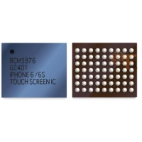 Mikroschema IC iPhone 5G / 5S / 5C / 6 / 6 Plus / SE / iPad Air / iPad Air 2 sensorikos U12 / U2401 / U6600 / U6650 / U4100 / U4150 / U4301 (BCM5976) balta