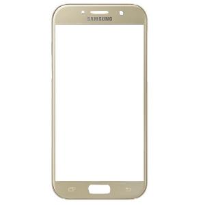 LCD stikliukas Samsung A320 A3 2017 auksinis