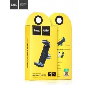 Automobilinis universalus telefono laikiklis HOCO CPH01 tvirtinamas ant ventiliacijos grotelių