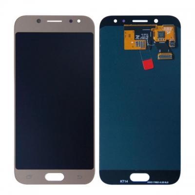 Ekranas Samsung J530F J5 (2017) su lietimui jautriu stikliuku auksinis originalus (service pack)
