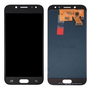 Ekranas Samsung J530F J5 (2017) su lietimui jautriu stikliuku juodas originalus (service pack)