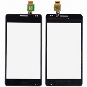Lietimui jautrus stikliukas Sony D2005 / D2004 Xperia E1 juodas ORG