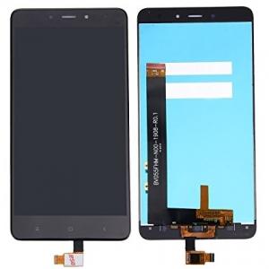 Ekranas Xiaomi Redmi Note 4 (BV055FHM-N00-1908-R0.1) su lietimui jautriu stikliuku juodas HQ