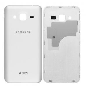Galinis dangtelis Samsung J320 J3 2016 baltas HQ
