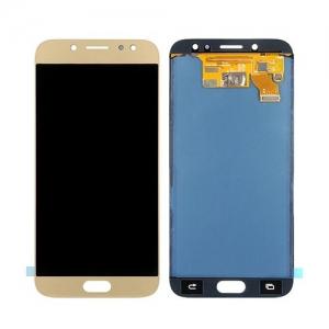 Ekranas Samsung J730F J7 (2017) su lietimui jautriu stikliuku auksinis originalus (service pack)