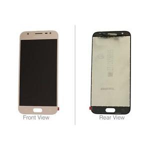 Ekranas Samsung J330F J3 (2017) su lietimui jautriu stikliuku auksinis originalus (service pack)