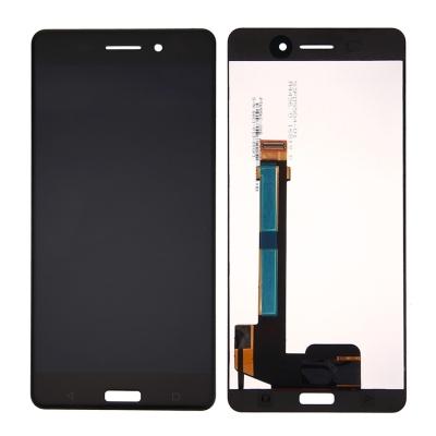 Ekranas Nokia 6 su lietimui jautriu stikliuku juodas HQ