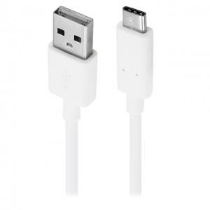 USB kabelis ORG LG G5 / Nexus 5X / Nexus 6P Type-C (DC12WK-G) baltas (1.2M)