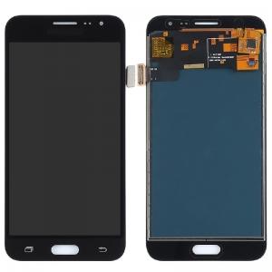Ekranas Samsung J320F J3 2016 su lietimui jautriu stikliuku juodas (TFT version, adjustable brightness) HQ