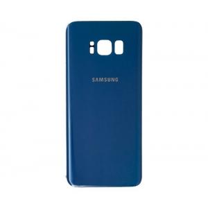 Galinis dangtelis Samsung G955F S8+ tamsiai mėlynas HQ