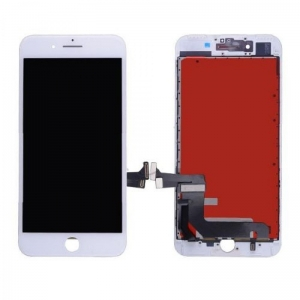 Ekranas iPhone 7 Plus su lietimui jautriu stikliuku baltas (Refurbished) ORG