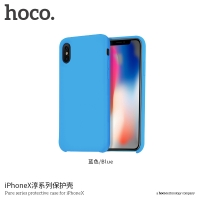 Dėklas  Hoco Pure Series  Apple iPhone X mėlynas