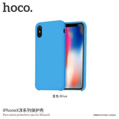 Dėklas  Hoco Pure Series  Apple iPhone X žydras