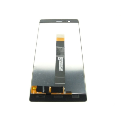 Ekranas Nokia 3 su lietimui jautriu stikliuku juodas HQ