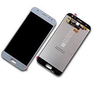 Ekranas Samsung J330F J3 (2017) su lietimui jautriu stikliuku sidabrinis originalus (service pack)