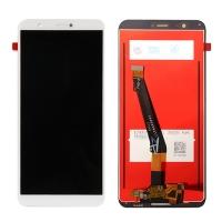Ekranas Huawei P Smart / Enjoy 7S su lietimui jautriu stikliuku baltas HQ