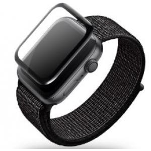 LCD apsauginis stikliukas  5D Full Glue  Apple Watch 38mm be įpakavimo