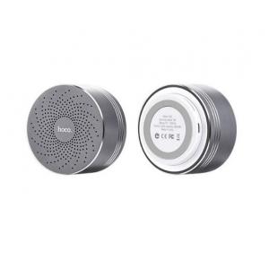 Bluetooth nešiojamas garsiakalbis HOCO BS5 (MicroSD, laisvų rankų įranga, AUX,FM) pilkas
